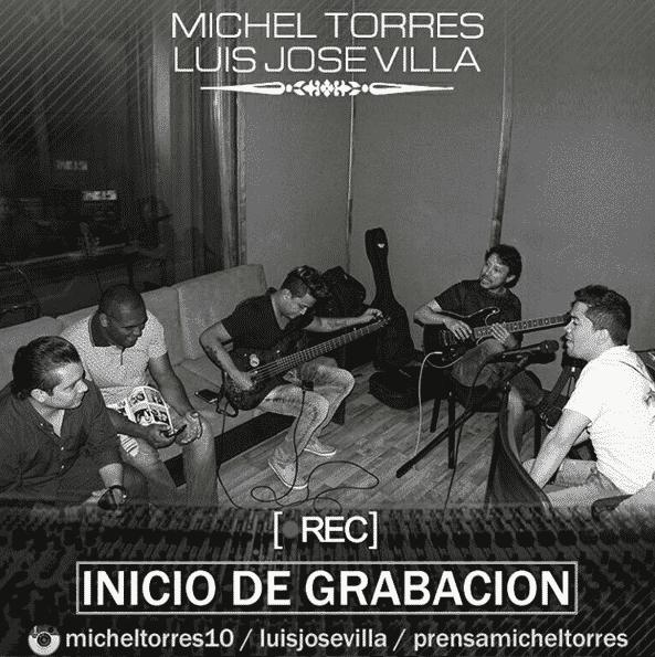 Michel Torres Avanza con su producción musical