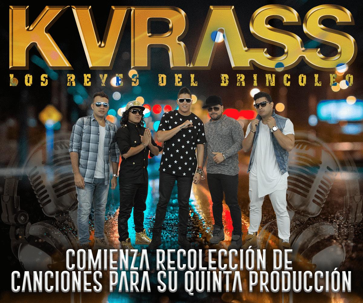 Grupo Kvrass Comienza Recolección De Canciones Para Su Quinta Producción