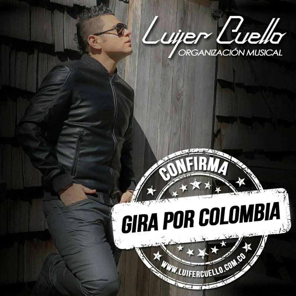 Luifer cuello de Gira por Colombia