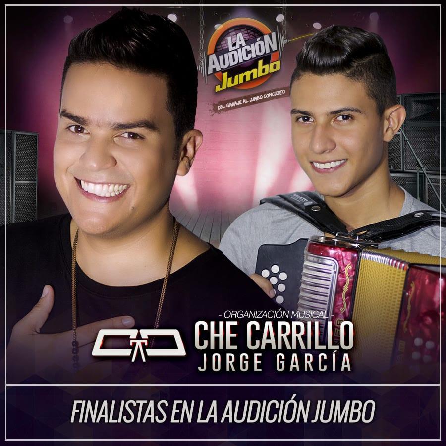 Che Carrillo & Jorge García finalistas en La Audición Jumbo