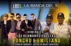 La banda del 5 Homenaje a Los Zuleta