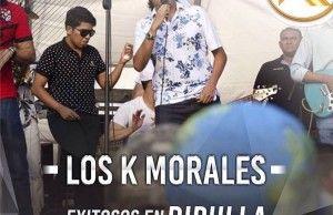 Los K Morales, actuaron en Dibulla