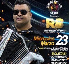 Rolando Ochoa actuará el 23 de marzo en Mompox