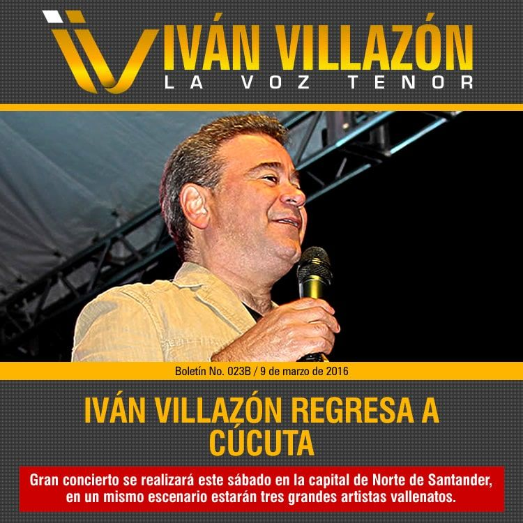 Iván Villazón regresa a Cúcuta