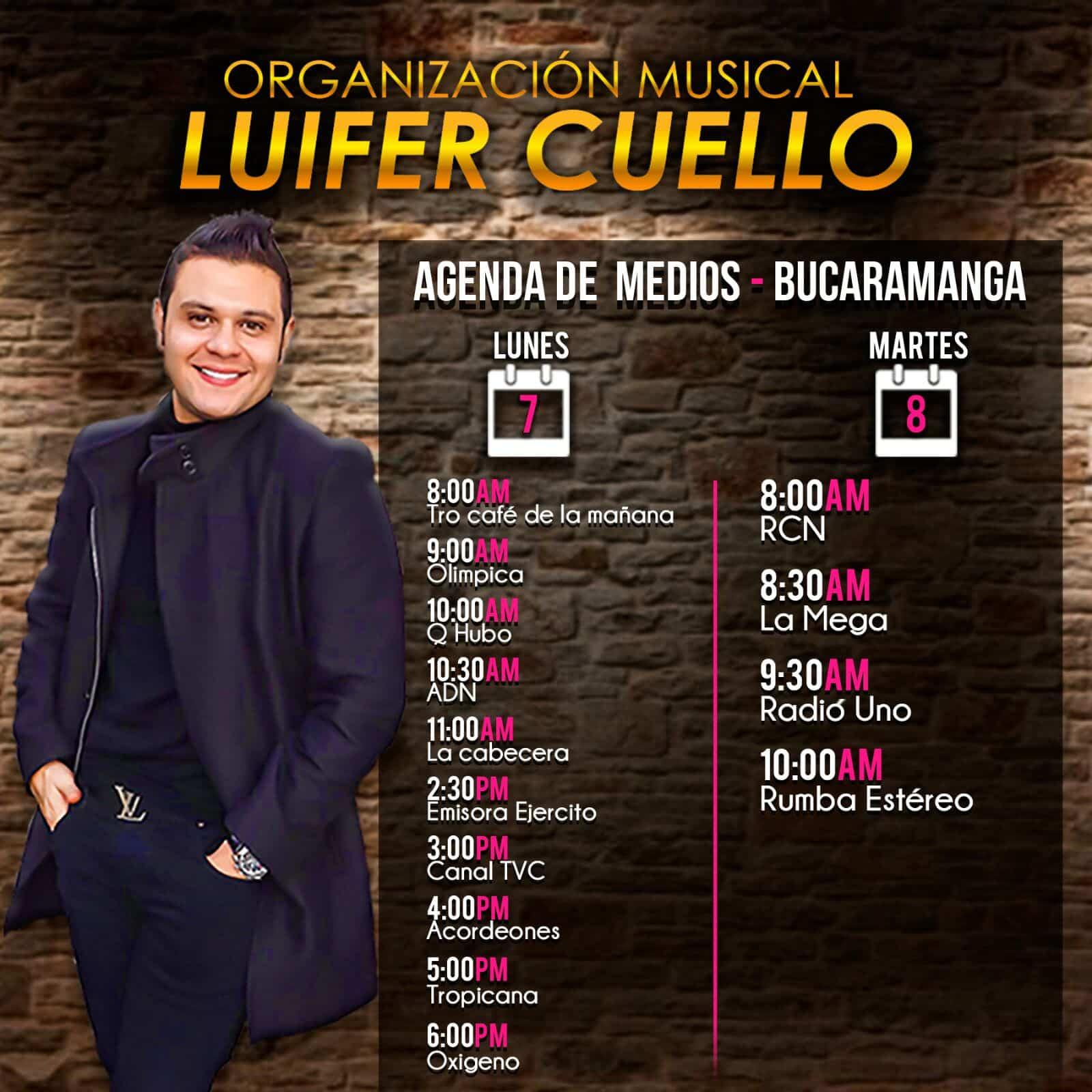 LUIFER CUELLO DE PROMOCIÓN EN Bucaramanga