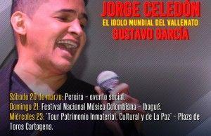 Jorge Celedón en el Festival Nacional de Música Colombiana