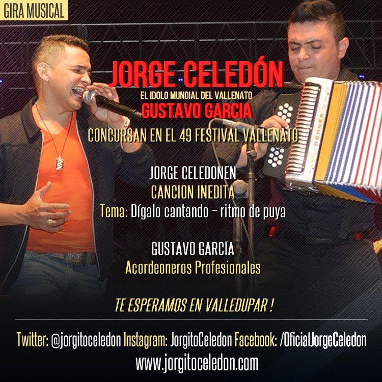 Jorge Celedón y Gustavo García
