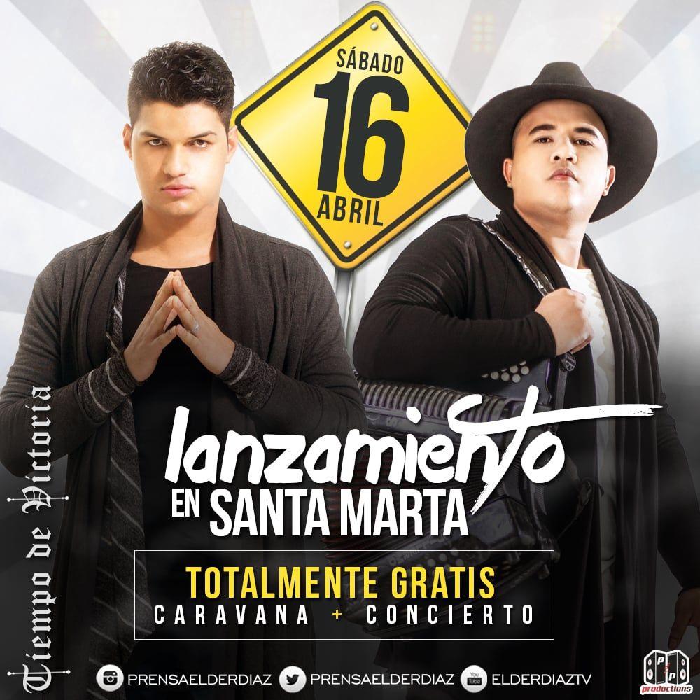 Sábado 16 Abril lanzamiento de Tiempo de Victoria en Santa Marta