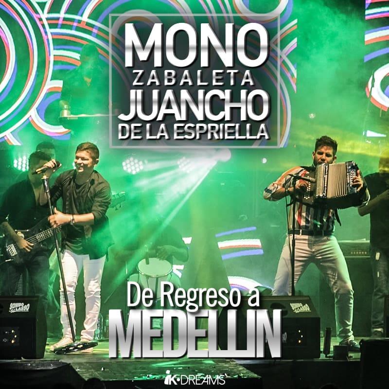 Mono Zabaleta & Juancho de la Espriella de regreso a Medellín