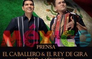 Peter Manjarrés & Sergio Luis de gira por Mexico