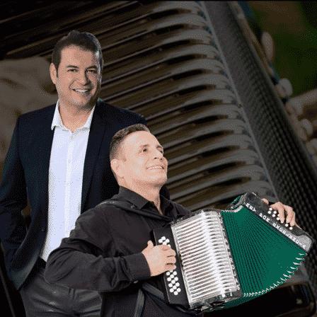 Penchy Castro y Julian Rojas