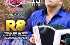 Rolando Ochoa, en San Tropel Por primera vez en Valledupar