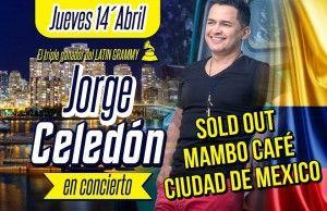 Jorge Celedón agota boletería en Ciudad de México, 48 horas antes de su concierto en México
