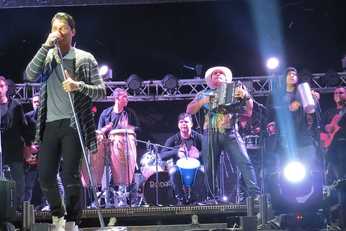 Elder Dayan Diaz y Luis Guillermo de la Hoz sensacionales en el Festival Vallenato
