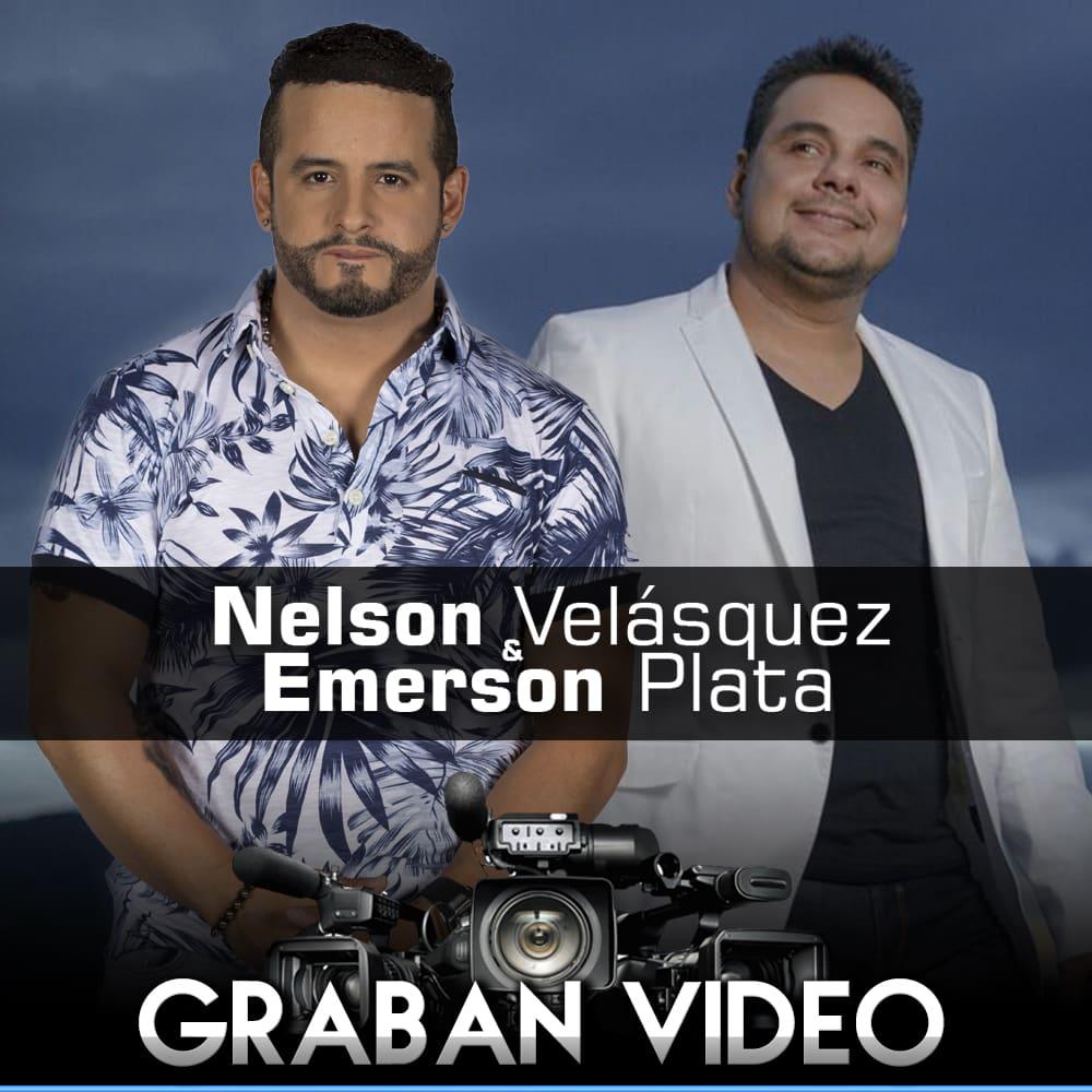 Nelson Velásquez & Emerson Plata graban video