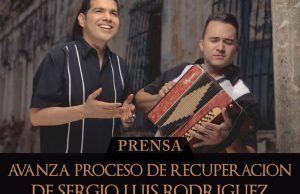 Avanza la recuperación de Sergio Luis Rodriguez