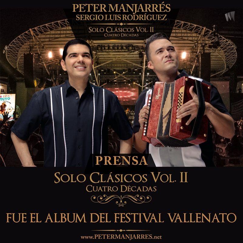 Solo clásicos Vol. ll el álbum del Festival Vallenato