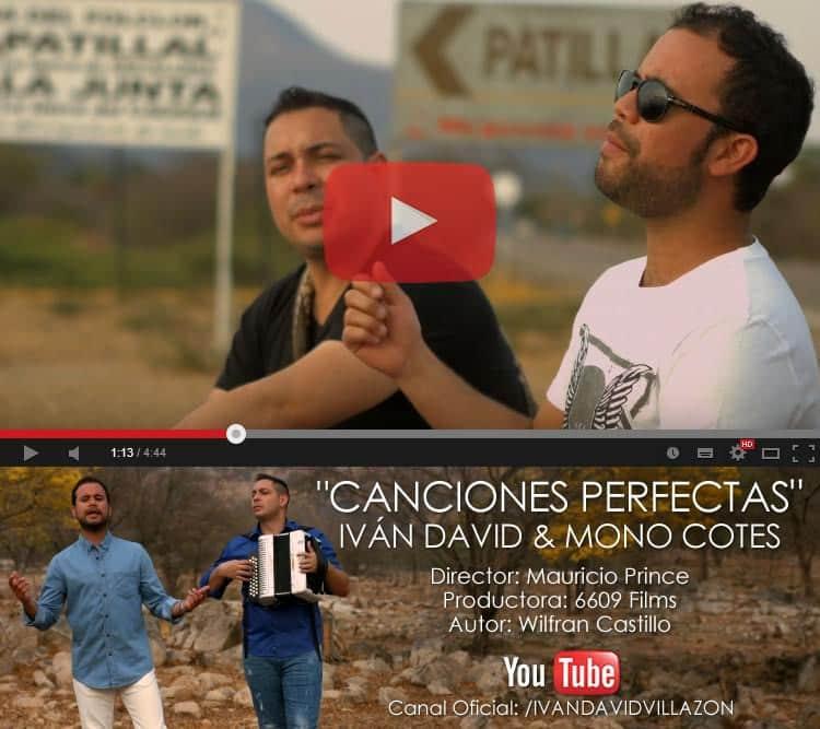 Iván David Villazón & Mono Cotes lanzan vídeo de Canciones perfectas