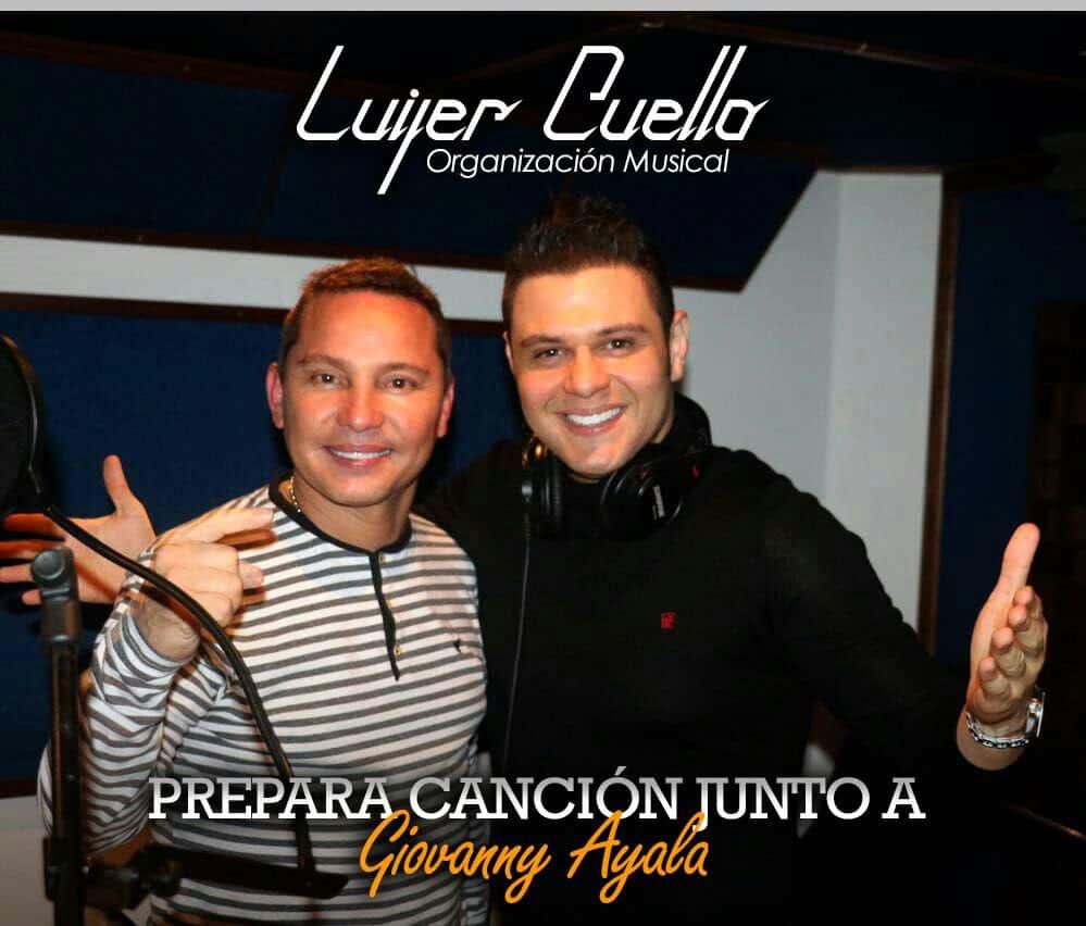 Luifer Cuello prepara canción con Giovanny Ayala