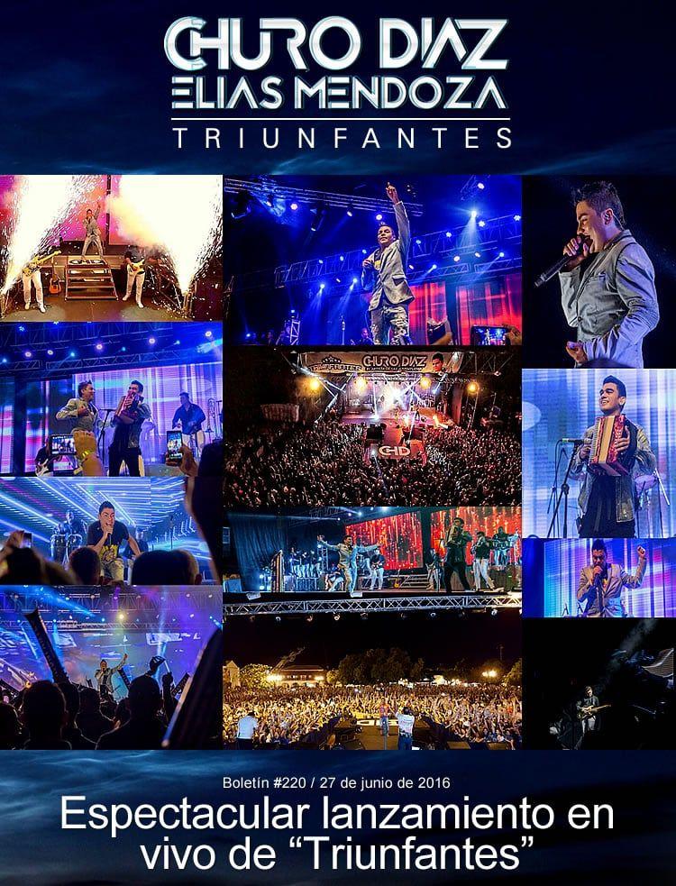 """Espectacular lanzamiento en vivo de """"Triunfantes"""" en Valledupar"""
