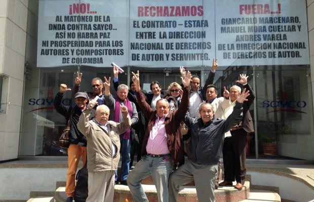Voz de protesta contra atropellos a SAYCO