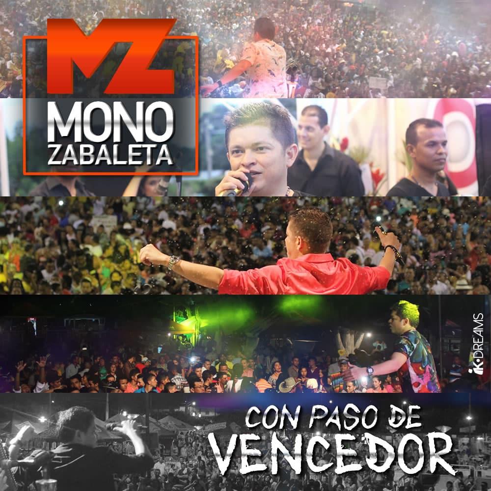 Mono Zabaleta con paso vencedor