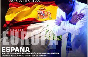 Orlando Liñan gira Europa