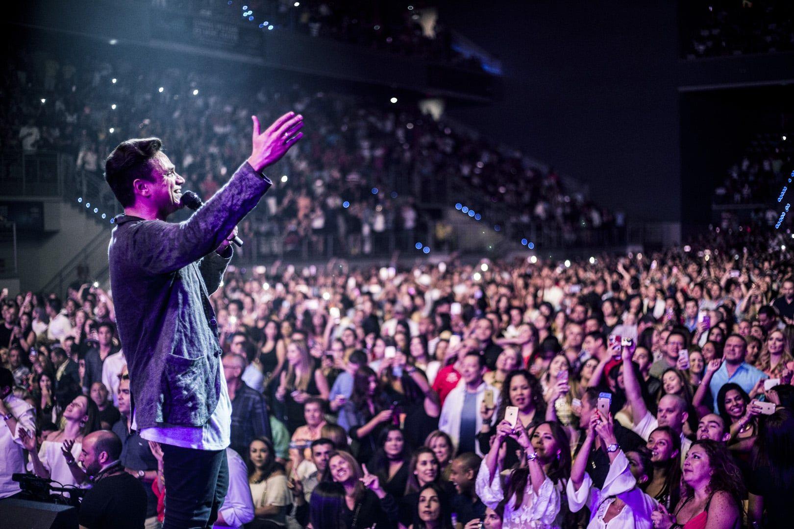 Silvestre Dangond en el Hard Rock Live en Miami