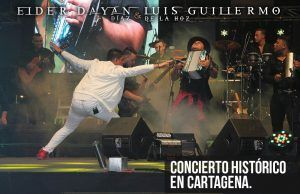 Concierto histórico en Cartagena para Elder Dayan Diaz