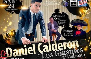 Concierto de Amor y Amistad Daniel Calderón y los gigantes en Valencia