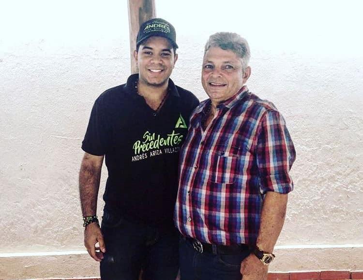 José Zequeda, nuevo mánager de Andres Ariza Villazon