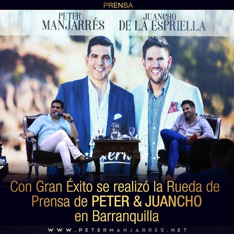 Peter Manjarres y Juancho de la Espriella