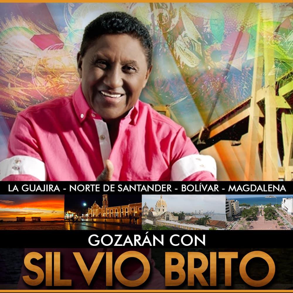 Silvio Brito fiestas de Santa Rosa. av