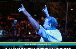 Iván Villazón a llenar escenarios en Bogotá y Chiquinquirá