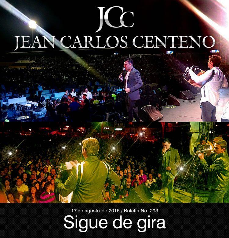 Jean Carlos Centeno sigue de gira