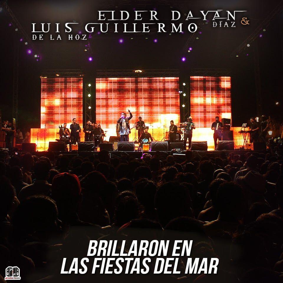 Elder Diaz y Luis Guillermo de la Hoz brillaron en las fiestas del mar