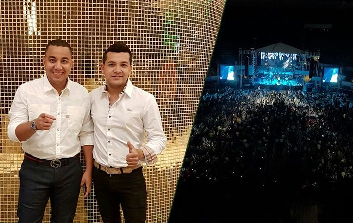 Felipe Pelaez & Manuel Julian Martínez por primera vez en Argentina