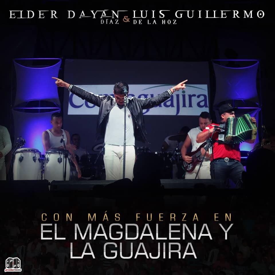 Elder Díaz con más fuerza en el Magdalena y La Guajira