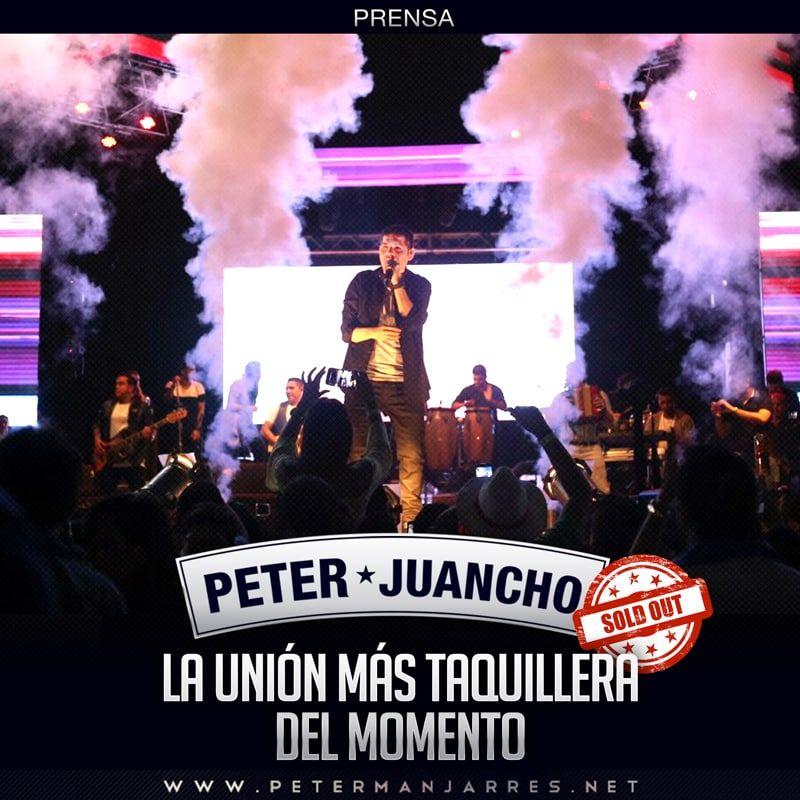 Peter Manjarrés & Juancho la unión más taquillera del momento