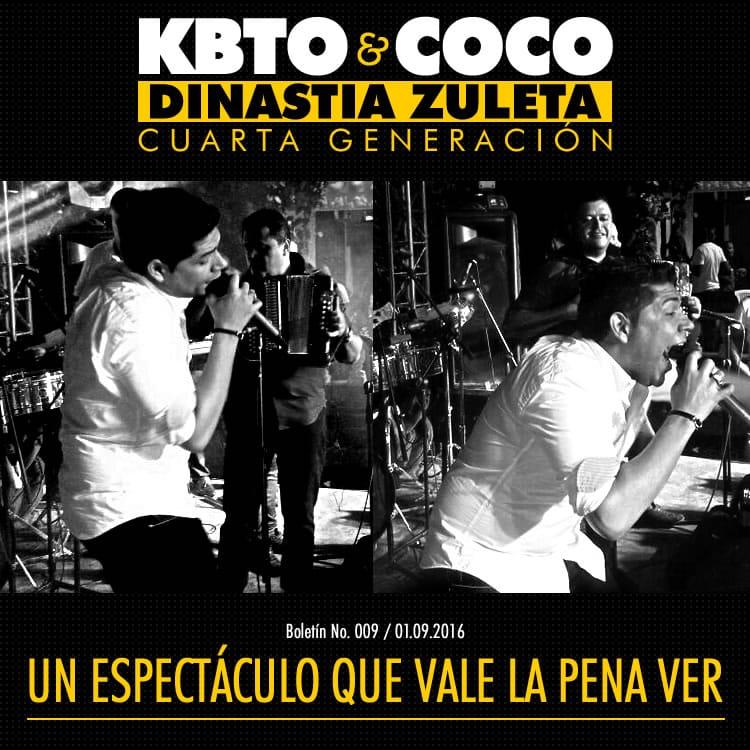 Kbeto Zuleta y Coco Zuleta un espectáculo que vale la pena ver
