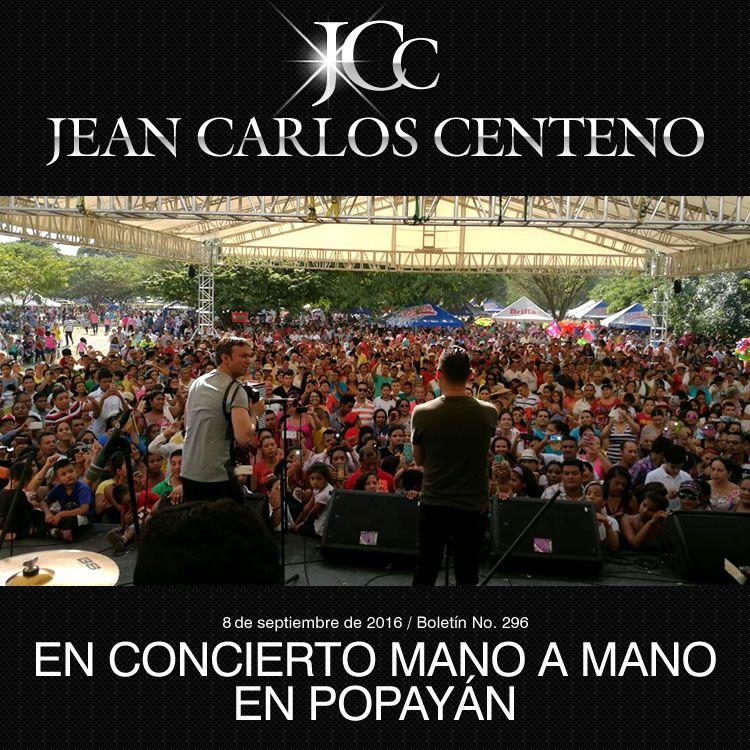 Jean Carlos Centeno en concierto mano a mano en Popayán