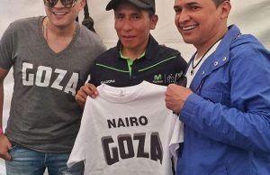 Nairo Quintana, GOZA con Jorge Celedón y Sergio Luís Rodríguez