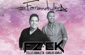 farandulera Fello Zabaleta & Carlos Karlo