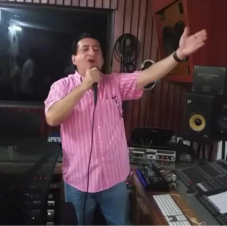 Jorge Oñate en la recta final de la grabacion de su nuevo CD