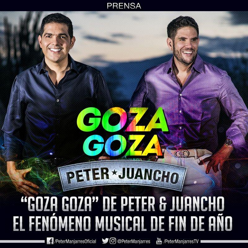 Goza Goza de Peter Manjarrés & Juancho de la Espriella un verdadero fenómeno musical
