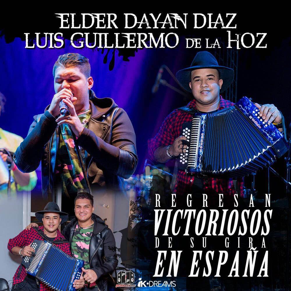 Elder Dayan Diaz y Luis Guillermo de la Hoz
