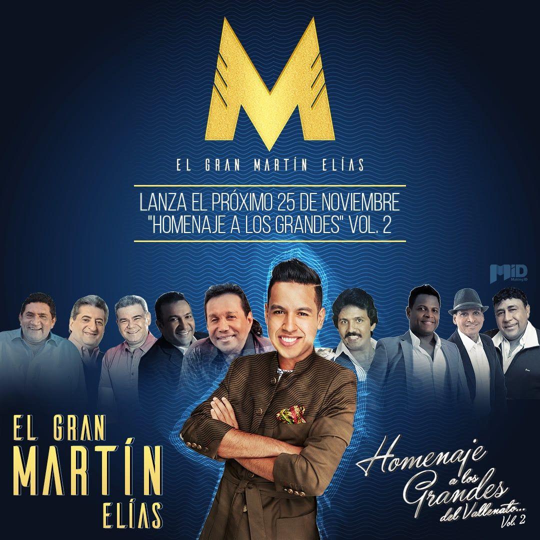 Martin Elías Homenaje a los grandes