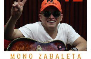 El Mono Zabaleta en la recta final de su nueva producción musical
