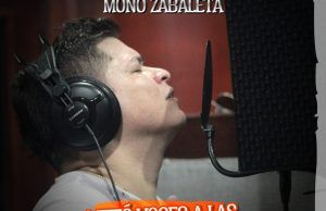 Mono Zabaleta metió voces a las canciones de En victoria
