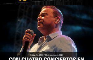 Iván Villazón con cuatro conciertos en cuatro departamentos